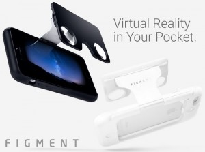 Figment VR Pocket Smartphone Virtual Reality Viewer (video)