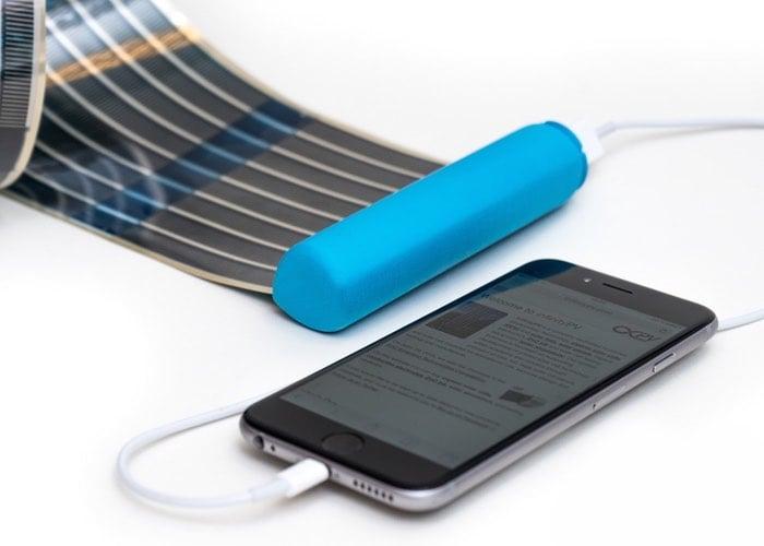 HeLi-on Pocket Solar Charger