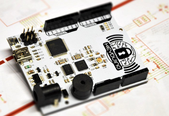 KeyDuino Development Board NFC Arduino