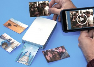 LifePrint Unique Paper Printed Photos That Come To Life Using Augmented Reality (video)