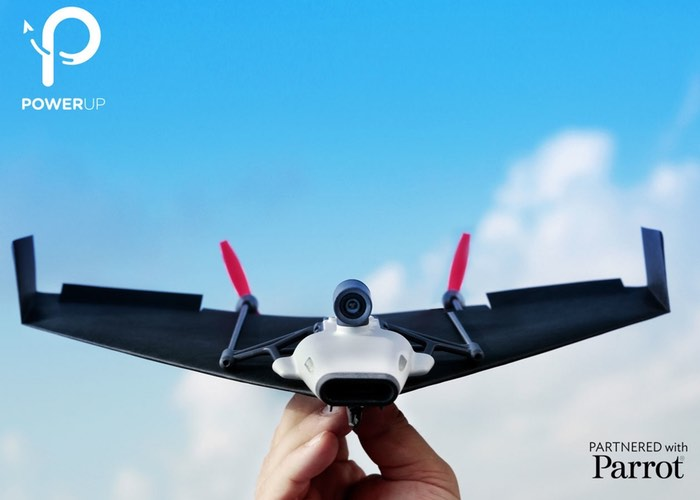 Live Streaming Paper Airplane Drone