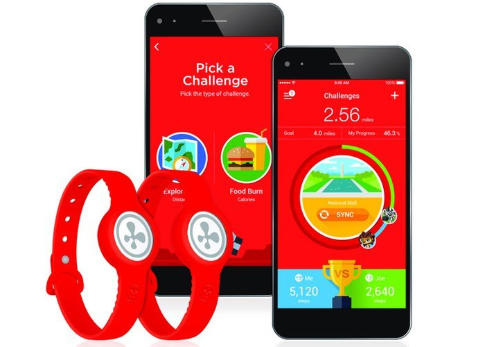 Nabi Compete Wearable Fitness Tracker