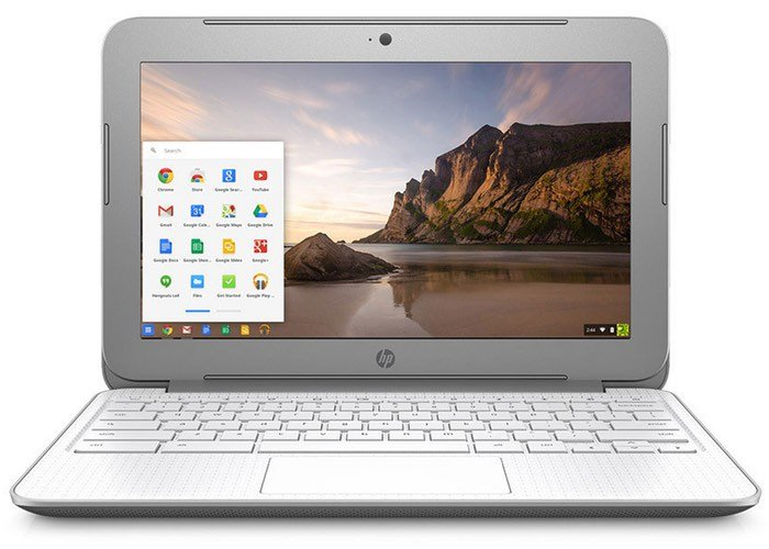 New HP Chromebook 14-silver