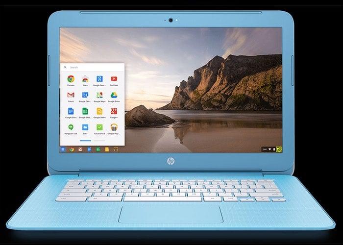 New HP Chromebook 14