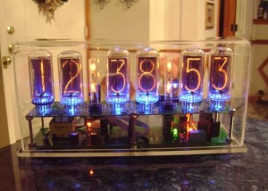 The Nixie Clock III Kit Equipped With IN-18 Nixie Tubes Created (video)
