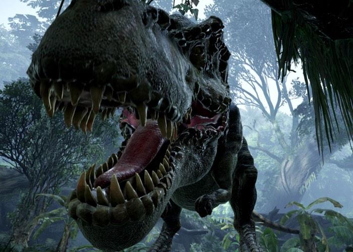 Oculus Rift DK2 Back To Dinosaur Island Demo