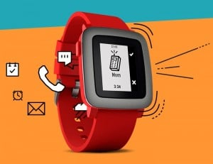 Pebble Time Smartwatch Now Supports iOS Voice Texting