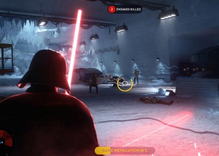 Play As Darth Vader As Star Wars Battlefront Installs