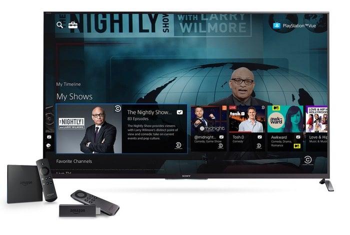 PlayStation Vue Amazon Fire TV