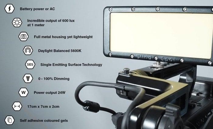 Portable Pocket Photographic Lighting Solution