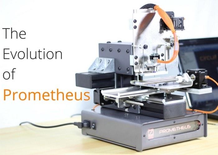 Prometheus Automates Circuit Board Creation