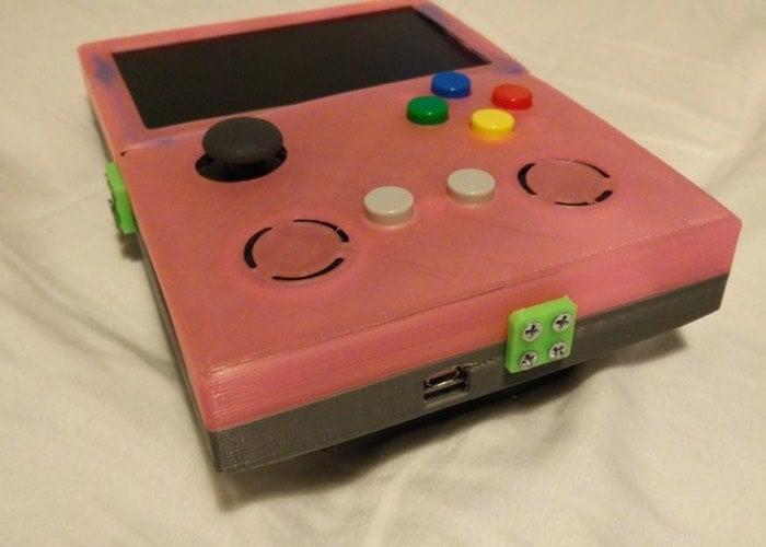 Raspberry Pi 2 Handheld Games Emulator-1