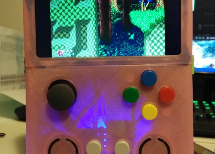 Raspberry Pi 2 Handheld Games Emulator