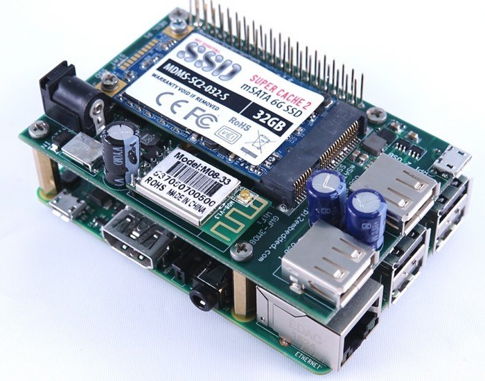 Raspberry Pi 2 SSD Shield