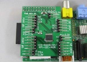 Raspberry Pi I2C Multiplexer