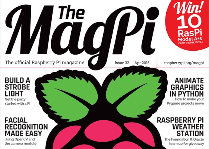 Raspberry Pi Magazine MagPi, First Thirty Issues Now Free To All Forever