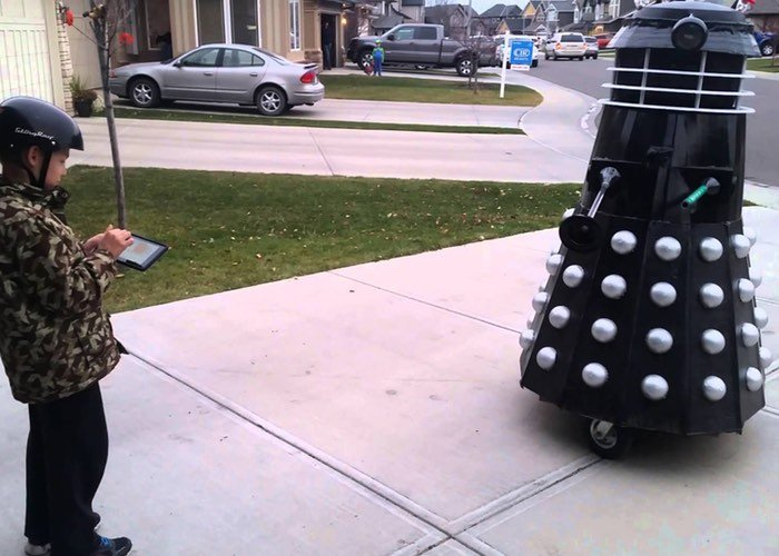 Raspberry Pi Powered Dalek