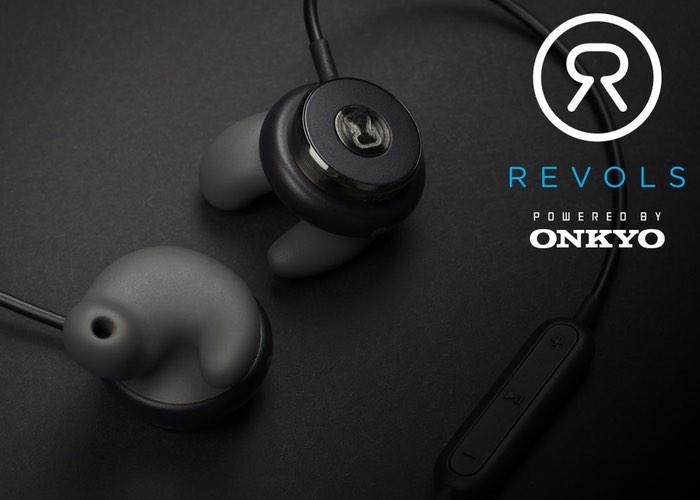 Revols Bluetooth Wireless Earphones With Custom Quick Fit