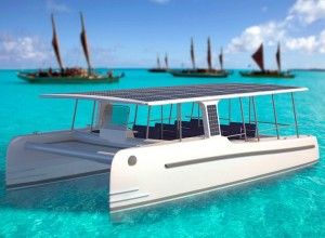 SoelCat 12 Solar Powered Electric Yacht Launching In 2016