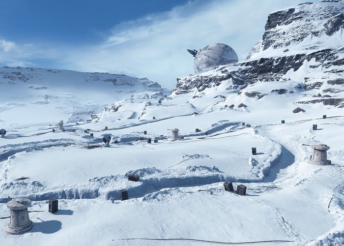 Star Wars Battlefront Hoth Maps