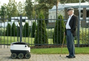 Starship Robot Will Deliver Your Packages (Video)