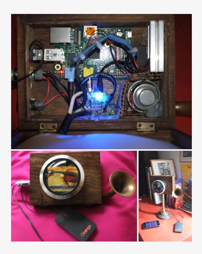 Steampunked Raspberry Pi