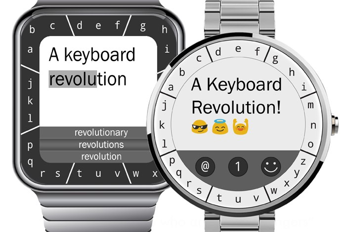 TouchOne Smartwatch Keyboard