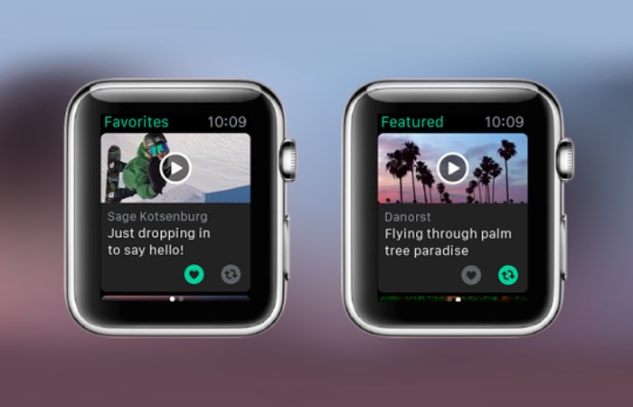 Vine Apple Watch App