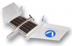 Volta Flyer Solar Powered Airplane Kits For Children (video)
