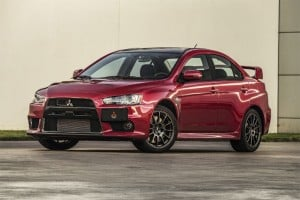 Mitsubishi announces Evo Final Edition US0001 Charity Auction