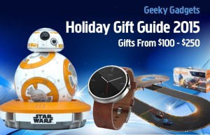 Gift Ideas From $100 – $250 – Holiday Gift Guide 2015