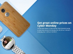 Motorola Announces Cyber Monday Deals