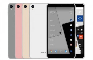 Nokia C1 Android Phone Appears In A Leaked Press Render