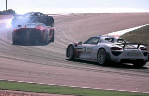 Porsche 918 Spyder, Ferrari LaFerrari And McLaren P1 Take To The Track (Video)