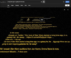 Google Has A Cool Star Wars Easter Egg In Search