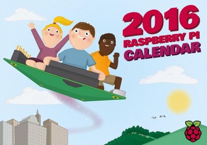 2016 Raspberry Pi Calendar