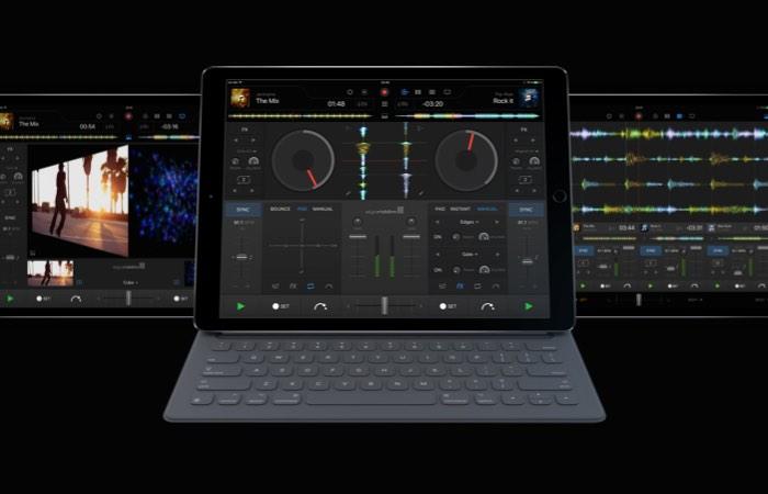 Algoriddim's djay Pro App iPad