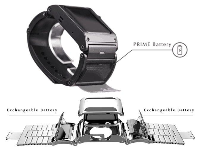 Apple Watch Battery Strap