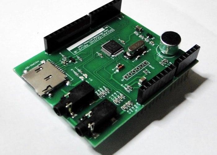 Arduino Sound Card