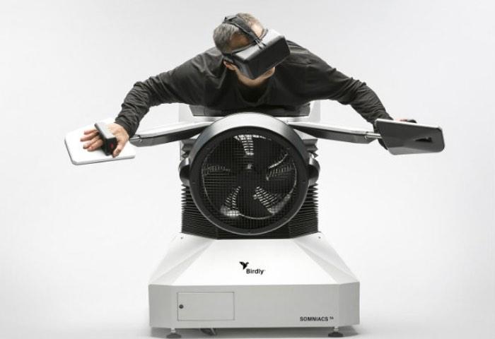 Birdly Virtual Reallity System