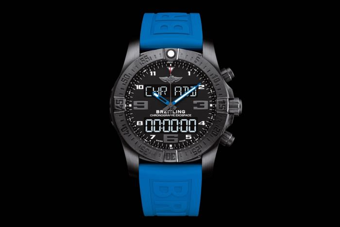 Swiss watch maker Breitling unleashes $8900 smartwatch - Exospace B55
