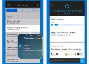 Microsoft Cortana Personal Assistant Launches On iOS And Android Platforms