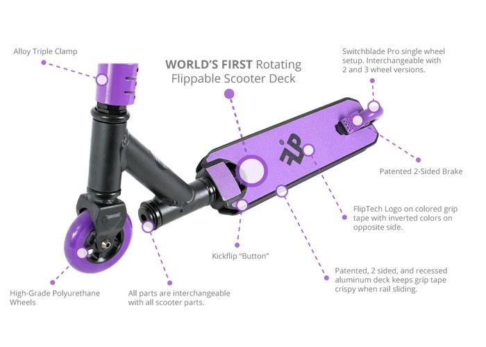 FlipTech Scooter