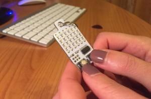KeyChainino Tiny Gaming Board Is An Arduino Programmable Keychain (video)