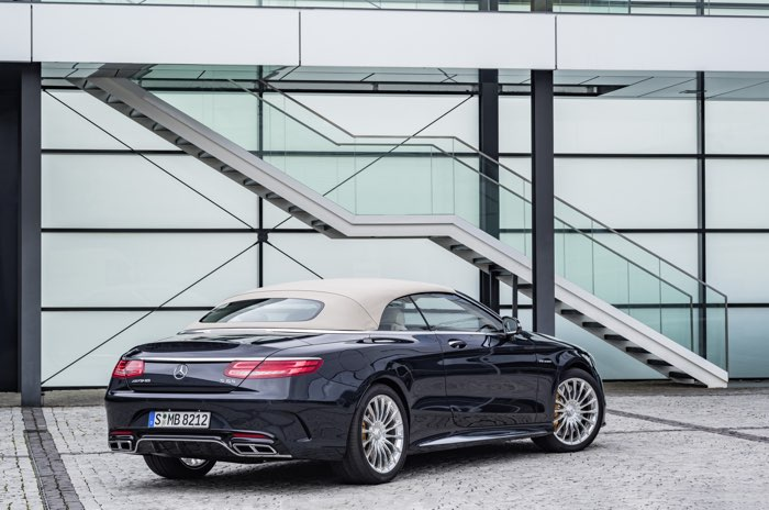 Mercedes AMG S 65 Cabriolet
