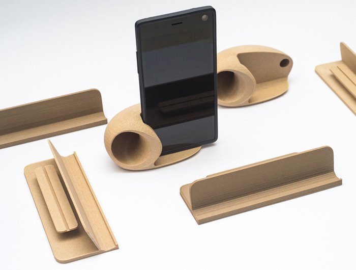 Modular Fairphone 2 Smartphone Wooden 3D Printed Accessories