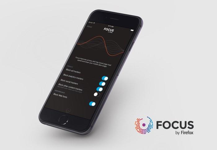 Mozilla Focus Content Blocker