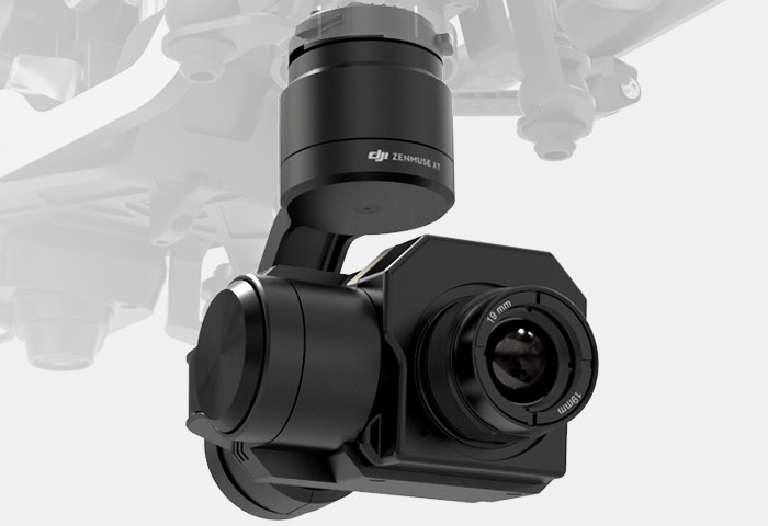 New DJI Zenmuse XT Thermal Imaging Camera