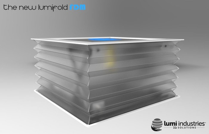 New LumiFold Compact Resin 3D Printer