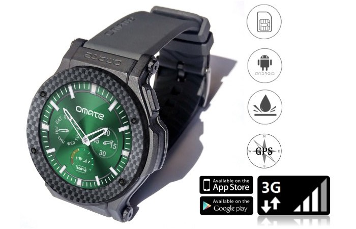 Omate Rise Standalone Water Resistant Smartwatch